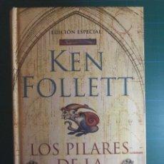 Libros de segunda mano: LOS PILARES DE LA TIERRA, KEN FOLLET. EDICIÓN ESPECIAL. ED. DEBOLSILLO. 2007. Lote 114257867