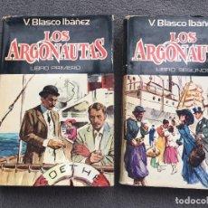 Libros de segunda mano: COLECCIÓN OBRA V. BLASCO IBAÑEZ . LOS ARGONAUTAS. LIBROS 1 Y 2 . PLAZA & JANÉS 1978 1 EDICION. Lote 116156979