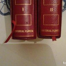 Libros de segunda mano: ERNEST HEMINGWAY . OBRAS SELECTAS , DOS TOMOS .EDITORIAL PLANETA.1ª EDICIÓN ENERO DE 1969. Lote 116732399