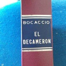 Libros de segunda mano: EL DECAMERON 1975 PEREZ DEL HOYO. Lote 117109267