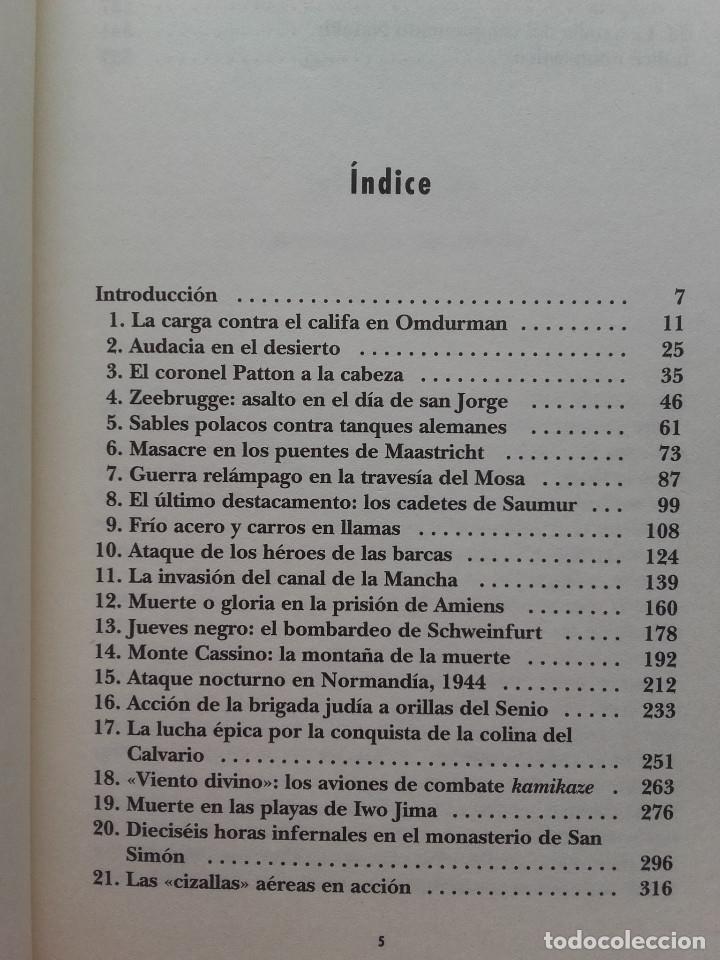 Libros de segunda mano: Héroes. 23 historias en la línea de fuego - David Eshel - Salvat - 2001 - Foto 3 - 118285023