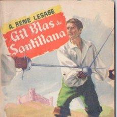 Libros de segunda mano: RENÉ LESAGE : GIL BLAS DE SANTILLANA PRIMERA PARTE (POPULAR LITERARIA, 1957). Lote 118842095