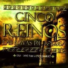 Libros de segunda mano: CINCO REINOS LAS NAVAS DE TOLOSA 1212-2012 VIII CENTENARIO. DE LOS LLANO, LUIS. NOVHIS-033. Lote 227232031