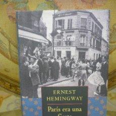 Libros de segunda mano: PARÍS ERA UNA FIESTA, DE ERNEST HEMINGWAY.. Lote 194290573