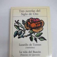 Libros de segunda mano: TRES NOVELAS DEL SIGLO DE ORO - PLANETA. Lote 119578619