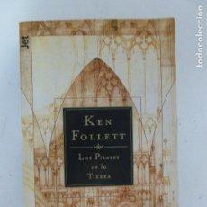 Libros de segunda mano: LOS PILARES DE LA TIERRA KEN FOLLETT , DEBOLSILLO, TAPA BLANDA. CONDICIÓN: BIEN. Lote 120219067