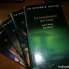 Libros de segunda mano: LOTE 3 LIBROS DE NOVELA HISTÓRICA - COLECCIÓN LA HISTORIA OCULTA - 2006.. Lote 120799367