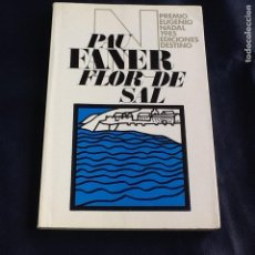 Libros de segunda mano: FLOR DE SAL. PAU FANER. Lote 121613647