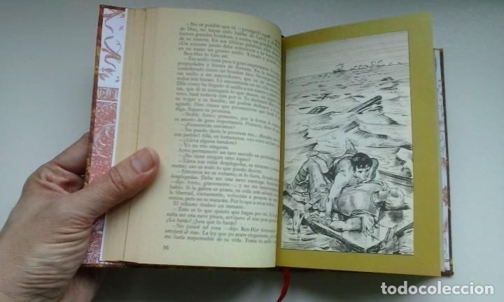 Libros de segunda mano: Ben-Hur (1970) / Lewis Wallace. Círculo de Amigos de la Historia. Encuadernación artesanal. - Foto 11 - 122967947