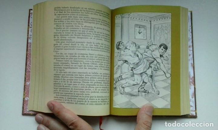 Libros de segunda mano: Ben-Hur (1970) / Lewis Wallace. Círculo de Amigos de la Historia. Encuadernación artesanal. - Foto 12 - 122967947