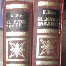 Libros de segunda mano: EL JUDIO ERRANTE * EUGENIO SUE - 2 TOMOS. Lote 124482183