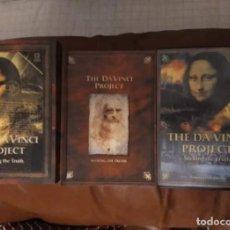 Libros de segunda mano: LIBRO + DVD + CD DESCIFRANDO EL CÓDIGO DA VINCI. Lote 124584259