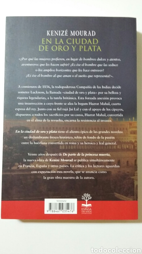Libros de segunda mano: En la ciudad de oro y plata. Kenizé Mourad. 2010 - Foto 2 - 127886042