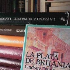 Libros de segunda mano: LOTE 9 TITULOS LENDSEY DAVIS NOVELA DE MARCO DIDIO FALCO EN EDHASA PRIMERA EDICION.. Lote 128142923