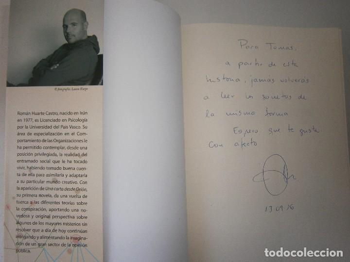 Libros de segunda mano: UNA CARTA DESDE ORION LA SAGA DE LOS BREUER Huarte Castro 2016 - Foto 8 - 128938995