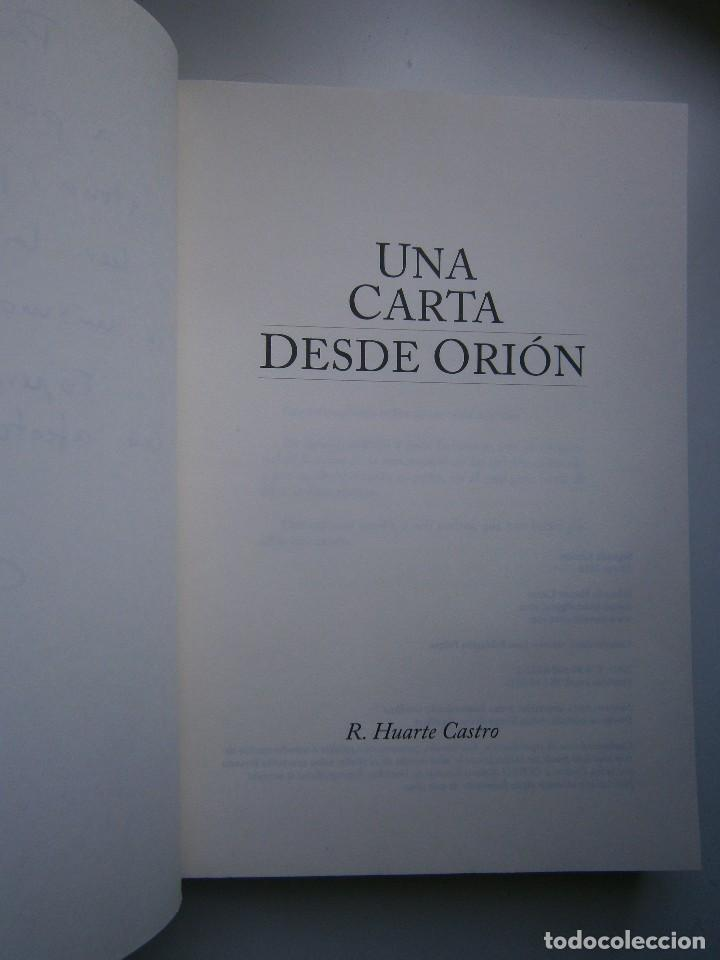 Libros de segunda mano: UNA CARTA DESDE ORION LA SAGA DE LOS BREUER Huarte Castro 2016 - Foto 9 - 128938995