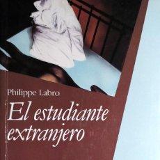 Livros em segunda mão: EL ESTUDIANTE EXTRANJERO / PHILIPPE LABRO. 1ª ED. [S.L.] : PARADIGMA, 1990.. Lote 129543871