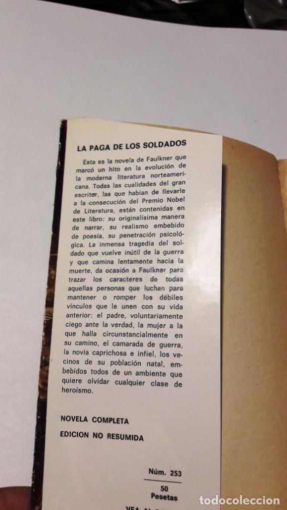 Libros de segunda mano: LA PAGA DE LOS SOLDADOS - WILLIAM FAULKNER - 1968 - Foto 4 - 130630274