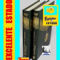 Libros de segunda mano: POR QUIÉN DOBLAN LAS CAMPANAS TOMOS I Y II OBRA COMPLETA - ERNEST HEMINGWAY - GUERRA CIVIL ESPAÑOLA. Lote 130944516