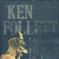 Libros de segunda mano: LOS PILARES DE LA TIERRA, KEN FOLLETT. Lote 130976176