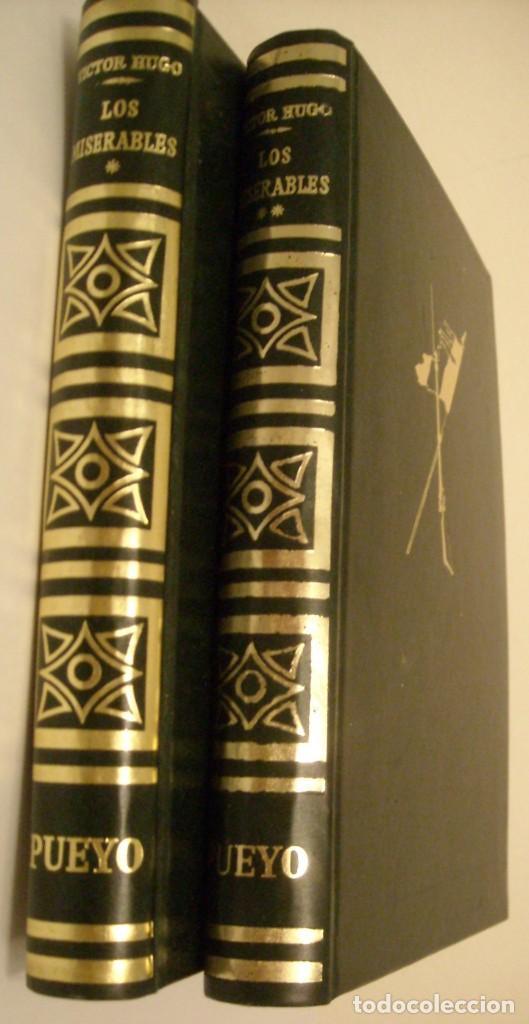 LOS MISERABLES - VICTOR HUGO (Libros de Segunda Mano (posteriores a 1936) - Literatura - Narrativa - Novela Histórica)