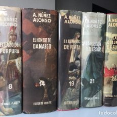 Libros de segunda mano: PENTALOGIA DE BENASUR DE JUDEA COMPLETA 5 TOMOS - A. NUÑEZ ALONSO - PLANETA OMNIBUS . Lote 132243134