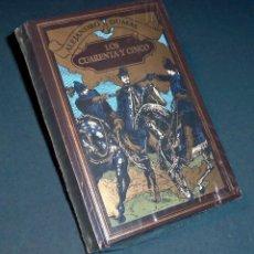 Libros de segunda mano: LIBRO - NOVELA DE ALEJANDRO DUMAS: LOS CUARENTA Y CINCO (RBA 2004). Lote 132634238