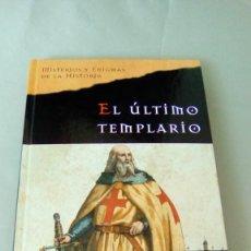Libros de segunda mano: EL ULTIMO TEMPLARIO.- EDWARD BURMAN. Lote 132677722