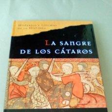 Libros de segunda mano: LA SANGRE DE LOS CATAROS.- ELIZABETH CHADWICK. Lote 132679334