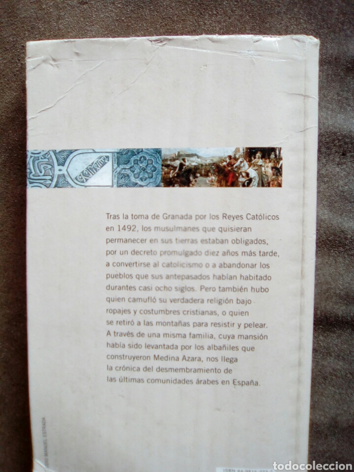 Libros de segunda mano: A LA SOMBRA DEL GRANADO DE TARIQ ALI NOVELAS HISTÓRICA DE EL PAÍS 2005 - Foto 2 - 133217162
