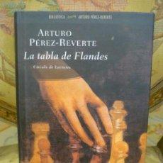 Libros de segunda mano: LA TABLA DE FLANDES, DE ARTURO PÉREZ-REVERTE.. Lote 134980498