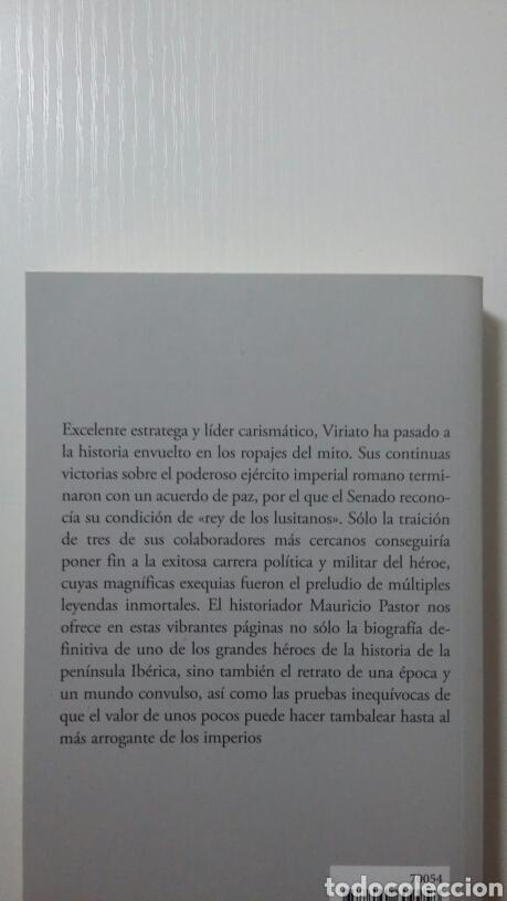 Libros de segunda mano: Viriato. Mauricio Pastor Muñoz. 2017 - Foto 2 - 136314816