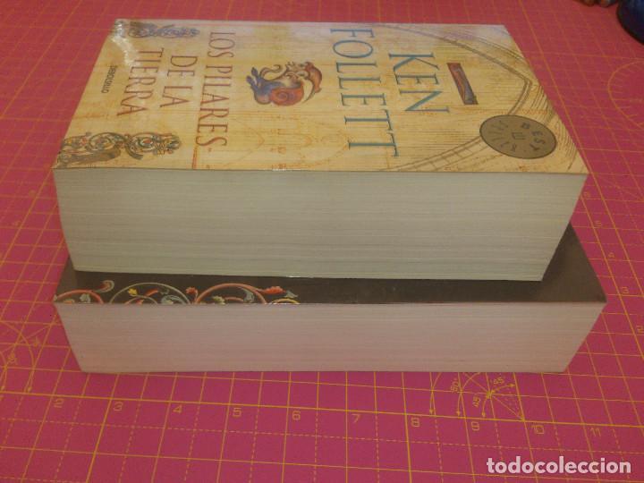 Libros de segunda mano: Los pilares de la tierra - Un mundo sin fin - Ken Follet - Tapa blanda - Foto 4 - 136469106