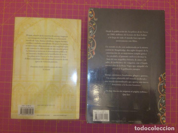 Libros de segunda mano: Los pilares de la tierra - Un mundo sin fin - Ken Follet - Tapa blanda - Foto 6 - 136469106