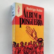 Livros em segunda mão: ALBUM DE POSGUERRA   RUBIO, RODRIGO   EDICIONES G.P. 1977 (1ª ED.). Lote 136765162