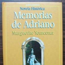 Libros de segunda mano: MEMORIAS DE ADRIANO. MARGUERITE YOURCENAR.. Lote 136776618