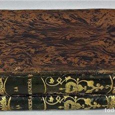 Libros de segunda mano: LA PRINCESA. WOLFENBUTTEL. TOMOS I Y II. IMP. A. BERGNES. BARCELONA. 1833.. Lote 137641958