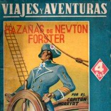 Libros de segunda mano: CAPITÁN MARRYAT : HAZAÑAS DE NEWTON FORSTER (VIAJES Y AVENTURAS MAUCCI, S.F.). Lote 137886598