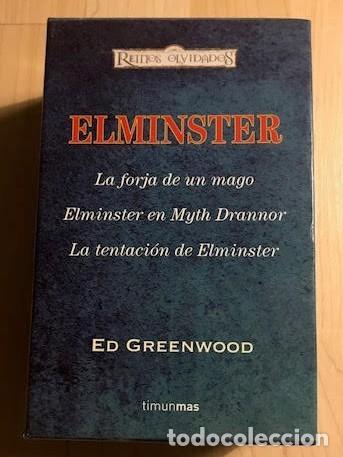 ELMINSTER LA FORJA DE UN MAGO, ELMINSTER EN MYTH DRANNOR, LA TENTACIÓN DE ELMINSTER 2009 (Libros de Segunda Mano (posteriores a 1936) - Literatura - Narrativa - Novela Histórica)