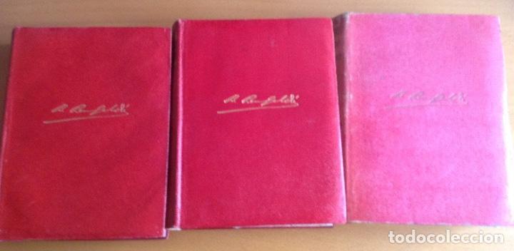 BENITO PÉREZ GALDOS OBRAS COMPLETAS EPISODIOS NACIONALES 1944-1945 TRES TOMOS (Libros de Segunda Mano (posteriores a 1936) - Literatura - Narrativa - Novela Histórica)