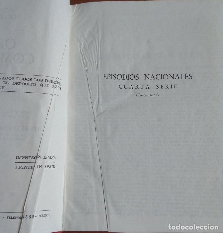 Libros de segunda mano: BENITO PÉREZ GALDOS OBRAS COMPLETAS EPISODIOS NACIONALES 1944-1945 TRES TOMOS - Foto 7 - 138941902