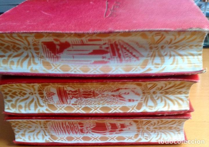 Libros de segunda mano: BENITO PÉREZ GALDOS OBRAS COMPLETAS EPISODIOS NACIONALES 1944-1945 TRES TOMOS - Foto 10 - 138941902