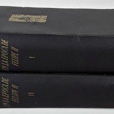 Libros de segunda mano: EL MEDITERRÁNEO Y EL MUNDO MEDITERRÁNEO EN LA ÉPOCA DE FELIPE II. TOMOS I Y II. 1953.. Lote 152423018