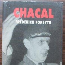 Libros de segunda mano: CHACAL. FREDERICK FORSYTH.. Lote 141120166