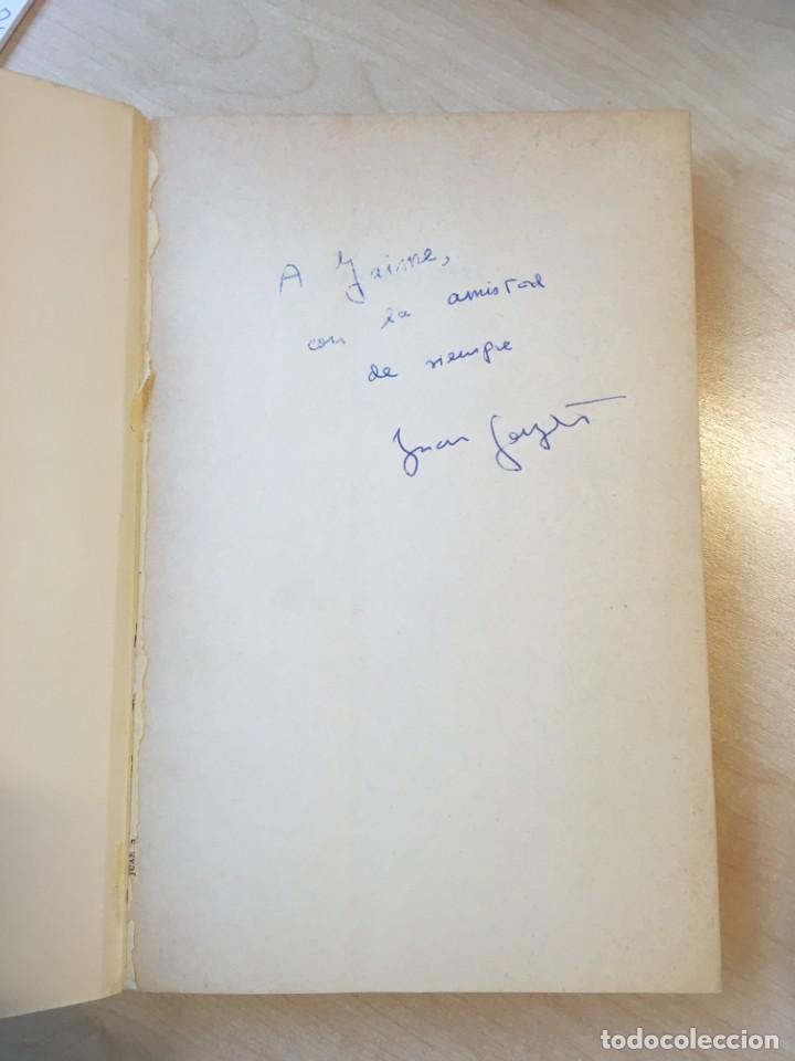 Libros de segunda mano: Juan sin tierra. Juan Goytisolo. 1ª ed. Dedicatoria del autor. - Foto 2 - 142390938