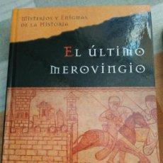 Libros de segunda mano: EL ÚLTIMO MEROVINGIO. (JIM HOUGAN). Lote 142659692