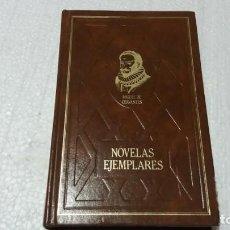 Libros de segunda mano: MIGUEL DE CERVANTES EJEMPLARES LA GITANILLA RINCONETE Y CORTADILLO EL LICENCIADO VIDRIERA ILUSTRE. Lote 143782786
