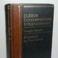 Libros de segunda mano: EL JARDÍN DE LOS FINZI-CONTINI. BASSANI GIORGIO. 1998. Lote 143808630