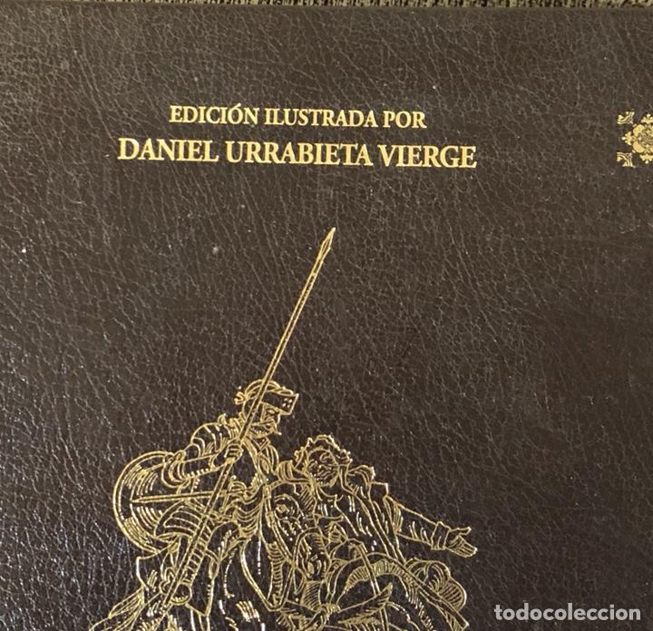 Libros de segunda mano: Lote de 2 tomos del quijote ilustrado por Daniel urrabieta, envío gratis - Foto 2 - 143871169