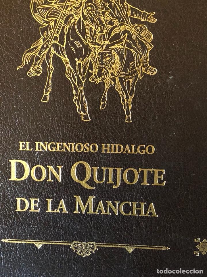 Libros de segunda mano: Lote de 2 tomos del quijote ilustrado por Daniel urrabieta, envío gratis - Foto 3 - 143871169